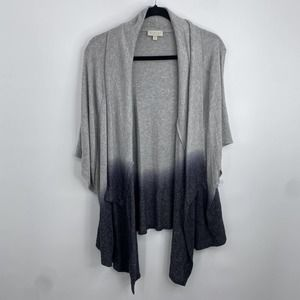 Status by Chenault Women's Ombre Open Cardigan Size S